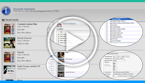 he playlist manager allows you to create and configure playlists to control how and when your media is played.