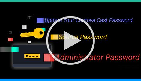 Centova Cast Stream Tab Password Reset